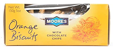 Moores Biscuits (Moores Orange Biscuits With Chocolate Chips 150g Pack