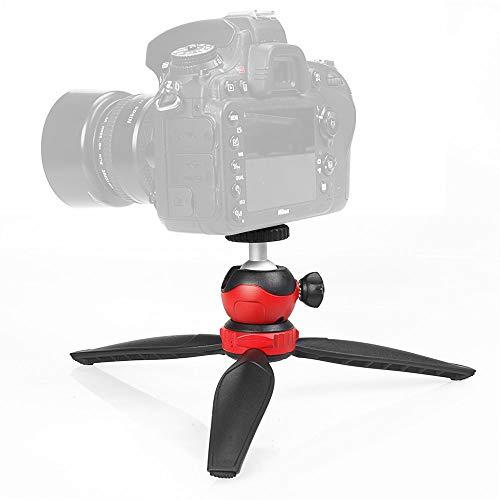 ZIMAIC MiniPod - Mini-Stativ Handy-Stativ Tisch-Stativ, kompakt, stabil, 360° Kugelkopf, 2 Arbeitshöhen, für Handy, DSLR, Kompakt-Kamera, Gopro, iPhone