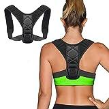 Geradehalter zur Haltungskorrektur für eine Gesunde Haltung, ideal zur Therapie für haltungsbedingte Nacken, Rücken und Schulterschmerzen Damen Herr