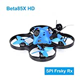 BETAFPV Beta85X HD 4S Frsky LBT Brushless CineWhoop Drone with F4 V2 FC BLHeli_32 16A ESC Caddx Turtle V2 Camera OSD Smart Audio 5000KV 1105 Motor XT30 Cable for Cine Whoop Drone FPV Racing