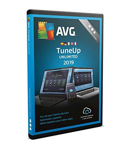 AVG TuneUp 2019 | Unbegrenzt | 1 Jahr | DVD Box