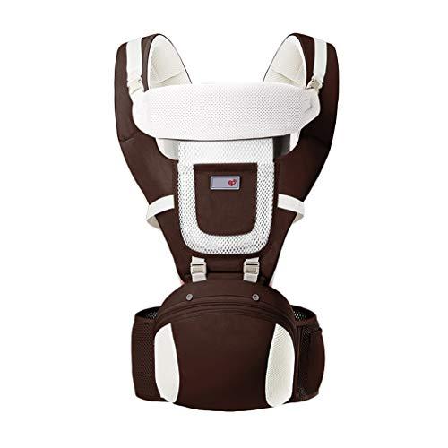 Usage été Porte-bébé Multifonction Respirant Assis sur Le Banc de Taille Devant de bébé Usage général ( Color : A )