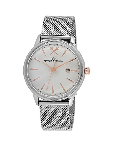 Reloj Yonger & Bresson hombre Silver–HMC 052/FM–Idea regalo Noel–en Promo