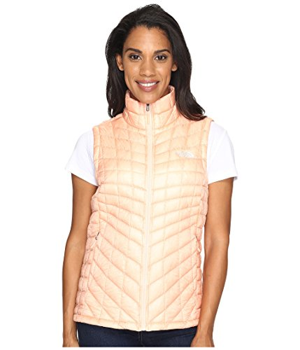 The North Face Women's Thermoball Vest Tropical Peach (Prior Season) Outerwear North Face Womens Vest