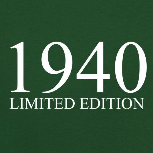 1940 Limierte Auflage / Limited Edition - 77. Geburtstag - Herren T-Shirt - 13 Farben Flaschengrün