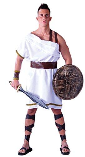 Fiestas Guirca Kostüm Soldat spartanisch Erwachsenen antiken - Spartan Kostüm Für Erwachsene