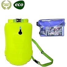 E-Onfoot - Bolsa de natación con Bolsa Impermeable con Correa de Cintura, Flotador