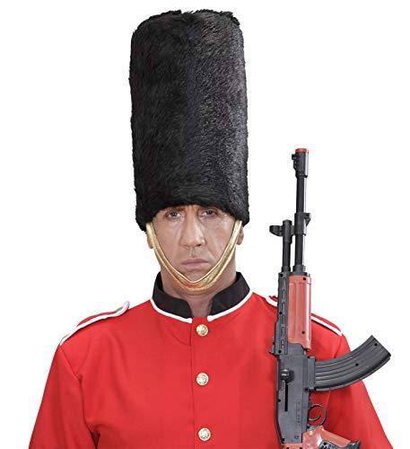 Widmann wdm4539r - cappello guardia reale in peluche, nero, taglia unica