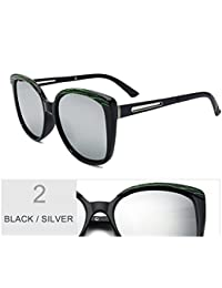 TIANLIANG04 Gafas De Sol De Bastidor Grande Mujer Butterfly Classic Unas Enormes Gafas De Sol Gafas Polarizadas De…
