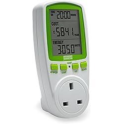Efergy M263219 - Contador consumo eléctrico energy monitoring socket 2.0