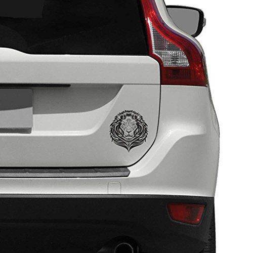 Tribal Lion Sticker / Decal in Vinile per Auto / Car / Macchina / Automobile