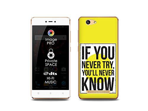 etuo Handyhülle für Allview X3 Soul Lite - Hülle, Silikon, Gummi Schutzhülle Fantastic Case - Versuchen und Wissen
