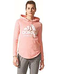 adidas Sp Id Oh Hoodie Sudadera, Mujer, Rosa-(Rostac), L