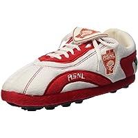 AS Nancy Lorraine, Pantofole a forma di scarpe da calcio, Bianco (Blanc), L (39-41)