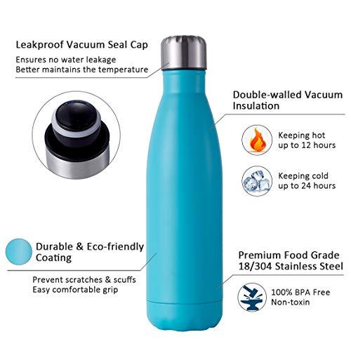 Zoom IMG-3 hgdgears bottiglia acqua in acciaio