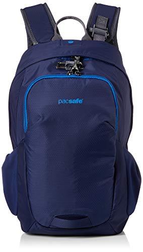 Pacsafe Venturesafe G3 15 litres, Technologie antivol, 100D Nylon Diamond Ripstop, Sac à Dos de Jour, Sac à Dos de randonnée, Bagage avec Technologie de sécurité, 15 litres, Bleu
