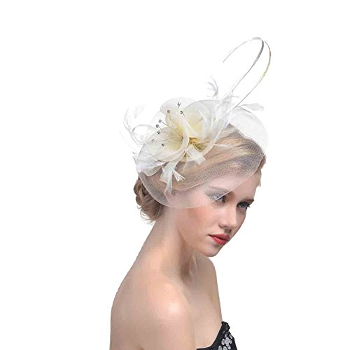 zycc-wedding-fascinator-hair-clips-gauze-flower-feather-bridal-cocktail-hat-formal-party-church-off-