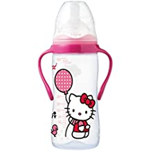 Tigex 80601910 - Biberón con asas 300 ml tetina air control de silicona Hello Kitty (