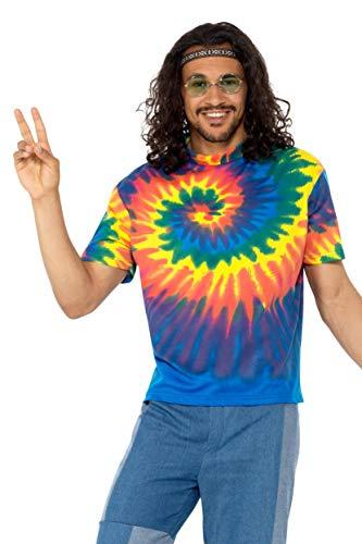 1960s Tie Dye T-Shirt for Men