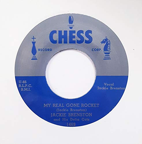 BRENSTON, Jackie My Real Gone Rocket/Tuckered Out 45rpm