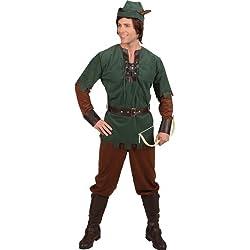ORLOB KARNEVAL GmbH Disfraz de hombre Robin Hood Carnival Hunter Carnival, héroe del bosque, salvador de los pobres (58/60)