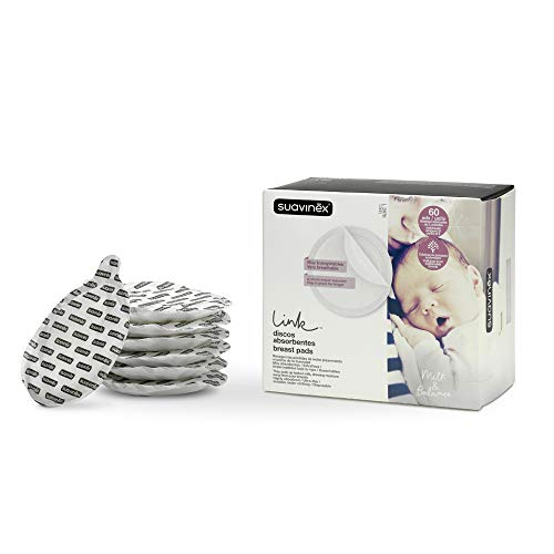 Protectores de pecho absorbentes Suavinex 60 unidades