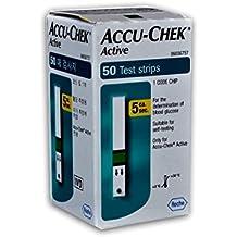 Accu-Chek Active Glucosa En Sangre Test Tiras (50Unidades)