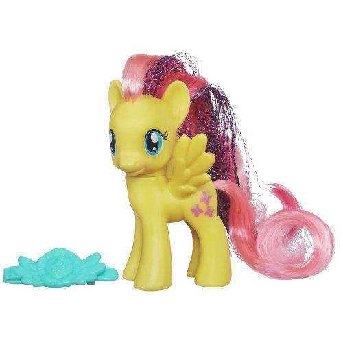 My Little Pony - A5623 Rainbow Power Fluttershy, mit glitzerndem Haar