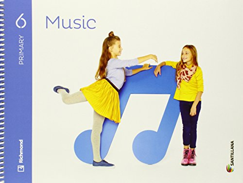 Music 6 primary student's book + cd