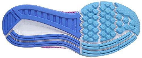 Nike Air Zoom Structure 19, Chaussures de Running Compétition Femme Violet (Hypr Vlt/White Gmm Bl Pht Bl)