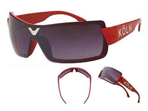 Viper Sonnenbrille Köln Bikerbrille UV 400 Fan Sonnenbrille