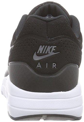 Nike  Air Max 1 Ultra Moire, Chaussures de course hommes Noir (black/black/dark Grey/white)