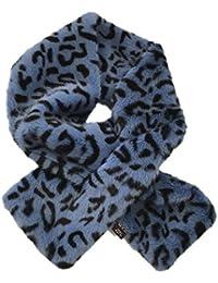 6eb00bbae5c8 Lagand 12x80cm Damen Winter Fake Kunstpelz Leopardenmuster Schal Wrap Kragen