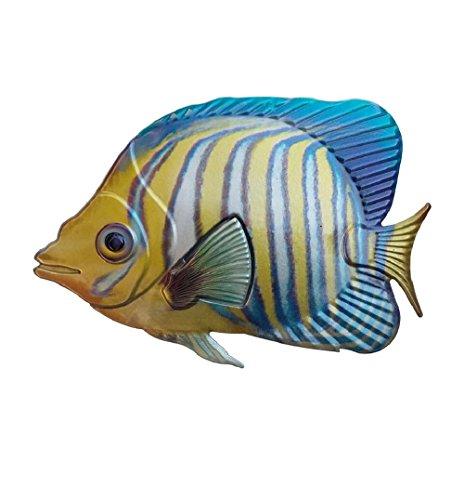 Haven Heritage Regal Angel Fish Fisch Art Wand Fisch Wand Skulptur (Angel Regal Fisch)