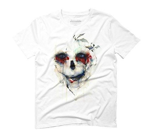 Fleur Du Mal Men's 3X-Large White Graphic T-Shirt - Design By Humans (Tee Mens Fleur)