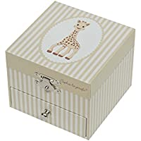 Sophie The Giraffe Trousselier Cube Music Box
