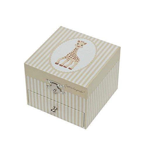 Trousselier T20061 Sophie, die Giraffe, Spieluhr-Würfel (Music Box Frankreich)