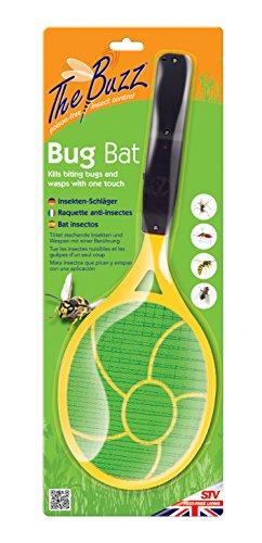 The Buzz Insekten-Schläger (Tötet stechende Insekten und Wespen mit einer Berührung, Batterien erforderlich)