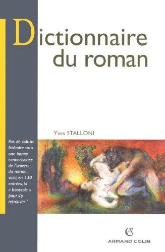 Dictionnaire du roman (Lettres)