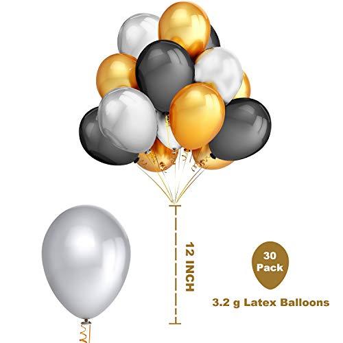 Zoom IMG-3 2019 palloncini decorazioni 40 oro