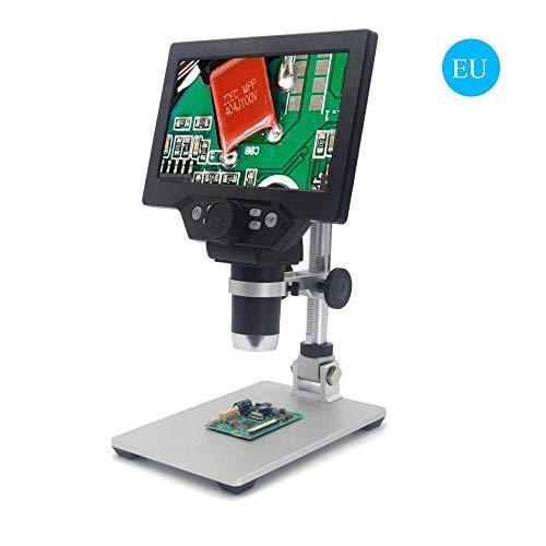 AOLVO Microscopio Digital LCD De 7 Pulgadas