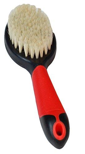 Karlie Pig 's Haare Bürste mit Griff, 23x 6,5x 4,5cm, rot/schwarz -