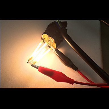 2 piezas ONDENN E26/E27 8 COB 800 LM Blanco Cálido A60(A19) edison Cosecha Bombillas de Filamento LED AC 100-240 / AC 110-130 V , 200-240v