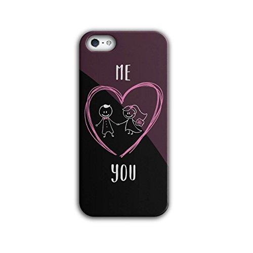 Mich Sie Zusammen Hochzeit Süß Liebe iPhone 5 / 5S Hülle | (Süße Kuchen Halloween Für Ideen)