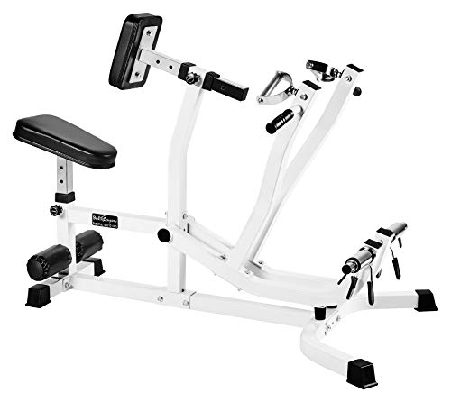 Bad Company Rückenmaschine/Rudermaschine I Rudergerät für das Rückentraining im Homegym I BCA-28