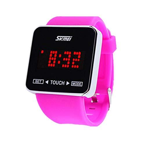 JIUZHOU Touch Screen Digital LED Jungen-Mädchen-Sport-Armbanduhr-Mode-Uhren