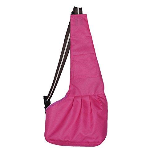 Forepin® Forte e robusto tessuto Oxford Sling Pet Carrier Bag Borsa Gatto del Cane Sling (Tela Sling)