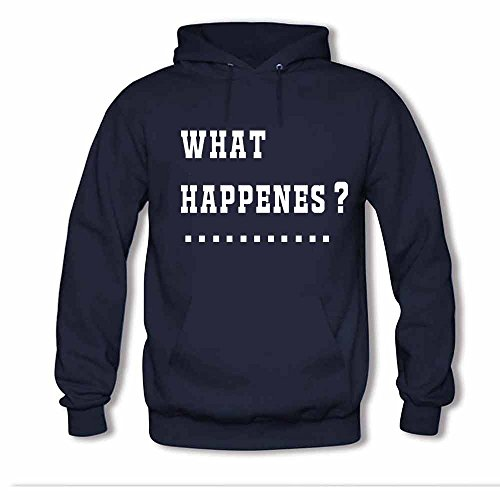 Women's Question What Happenes Soft Cotton Hoodies XXL