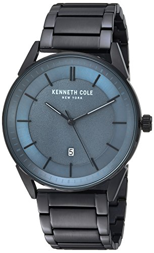 Kenneth Cole New York Men's Quartz Stainless Steel Casual Watch, Color:Black (Model: KC50190003)