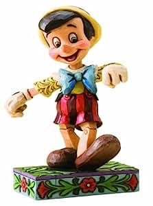 Disney Traditions Pinocchio Lively Step Figurine